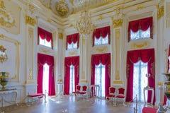 Οι ιππότες η χρυσή αίθουσα Στοκ εικόνα με δικαίωμα ελεύθερης χρήσης