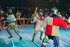 Οι ιππότες σιδήρου Στοκ εικόνα με δικαίωμα ελεύθερης χρήσης