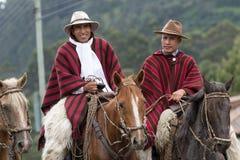 Οι κάουμποϋ του Ισημερινού καλούνται chagra Στοκ φωτογραφία με δικαίωμα ελεύθερης χρήσης
