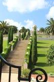 Οι κήποι Bahai στοκ εικόνες