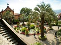 Οι κήποι Isola madre Στοκ εικόνα με δικαίωμα ελεύθερης χρήσης