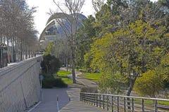 Οι κήποι Turia στη Βαλένθια Ισπανία Στοκ εικόνα με δικαίωμα ελεύθερης χρήσης