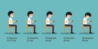 Οι κακές έξυπνες τηλεφωνικές στάσεις ελεύθερη απεικόνιση δικαιώματος