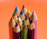 Οι Καλές Τέχνες των μολυβιών χρώματος Στοκ Εικόνα