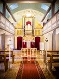 Οι καρέκλες για τη νύφη και το νεόνυμφο Στοκ Εικόνα