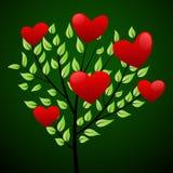 οι καρδιές έννοιας αγαπ&omicro απεικόνιση αποθεμάτων