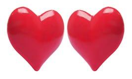 οι καρδιές αγαπούν το κόκ&k Στοκ φωτογραφίες με δικαίωμα ελεύθερης χρήσης