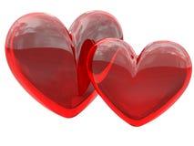 οι καρδιές ανασκόπησης α&p Στοκ Εικόνες