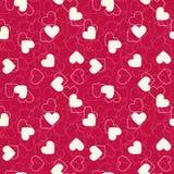 οι καρδιές ανασκόπησης &omicron Στοκ Εικόνες