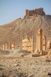 Οι καταστροφές της αρχαίας πόλης Palmyra, Συρία Στοκ Φωτογραφίες