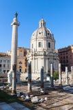 οι καταστροφές της αρχαίας Ρώμης Στοκ φωτογραφίες με δικαίωμα ελεύθερης χρήσης