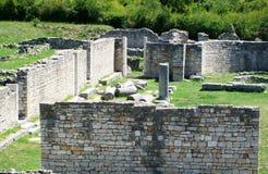 Οι καταστροφές της ρωμαϊκής αρχαίας πόλης - Salona Στοκ Φωτογραφία