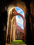Οι καταστροφές του γοτθικού καθεδρικού ναού Στοκ εικόνες με δικαίωμα ελεύθερης χρήσης