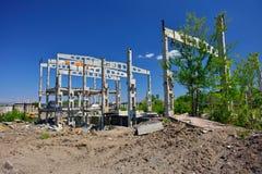Οι καταστροφές του εργοστασίου Στοκ φωτογραφίες με δικαίωμα ελεύθερης χρήσης