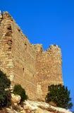 Οι καταστροφές του μεσαιωνικού φρουρίου των ιπποτών Στοκ Εικόνα