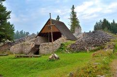 Οι καταστροφές του μοναστηριού Στοκ φωτογραφία με δικαίωμα ελεύθερης χρήσης