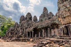 Οι καταστροφές του ναού Angkor Thom Στοκ φωτογραφίες με δικαίωμα ελεύθερης χρήσης