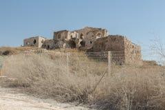 Οι καταστροφές του φρουρίου σταυροφόρων στοκ φωτογραφίες