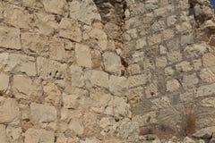 Οι καταστροφές του φρουρίου σταυροφόρων στοκ εικόνες με δικαίωμα ελεύθερης χρήσης