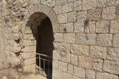 Οι καταστροφές του φρουρίου σταυροφόρων στοκ φωτογραφίες με δικαίωμα ελεύθερης χρήσης