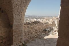 Οι καταστροφές του φρουρίου σταυροφόρων στοκ φωτογραφία με δικαίωμα ελεύθερης χρήσης