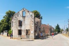 Οι καταστροφές του oradour-sur-glane Στοκ εικόνα με δικαίωμα ελεύθερης χρήσης