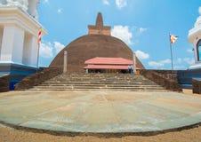 Οι καταστροφές Anuradhapura, Σρι Λάνκα στοκ εικόνες