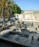 Οι καταστροφές Capernaum Στοκ Εικόνα