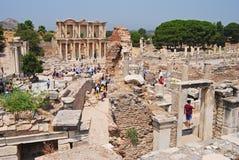 Οι καταστροφές Ephesus Στοκ φωτογραφία με δικαίωμα ελεύθερης χρήσης