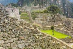 Οι καταστροφές Machu Picchu Στοκ Φωτογραφίες