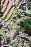 Οι καταστροφές Machu Picchu Στοκ Εικόνες