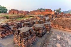 Οι καταστροφές Nalanda Mahavihara Στοκ φωτογραφίες με δικαίωμα ελεύθερης χρήσης
