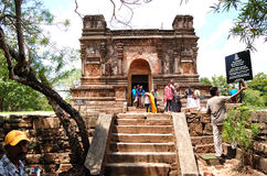 Οι καταστροφές Polonnaruwa Στοκ εικόνες με δικαίωμα ελεύθερης χρήσης