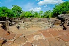 Οι καταστροφές Polonnaruwa στοκ εικόνα με δικαίωμα ελεύθερης χρήσης