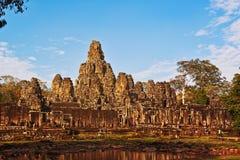 Οι καταστροφές Tenple στην περιοχή Angkor της ΟΥΝΕΣΚΟ κοντά σε Siem συγκεντρώνουν, Καμπότζη Στοκ Φωτογραφίες
