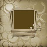 οι κορδέλλες polaroid αυξήθηκαν Ελεύθερη απεικόνιση δικαιώματος