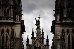 Οι κορυφές της εκκλησίας Στοκ Φωτογραφία