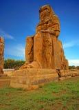 Οι κολοσσοί Memnon, Luxor, Αίγυπτος Στοκ Εικόνες