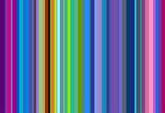 Οι κόκκινες, πράσινες, ιώδεις, άσπρες γραμμές, αφαιρούν το ζωηρόχρωμο υπόβαθρο Στοκ Εικόνα