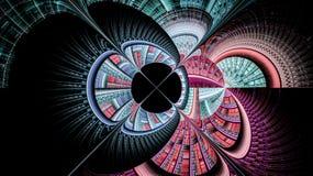 Οι κόσμοι φαντασίας fractals Στοκ Φωτογραφίες