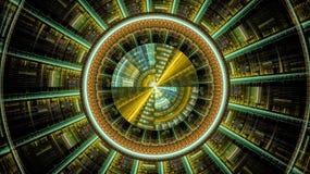 Οι κόσμοι φαντασίας fractals Στοκ Εικόνα