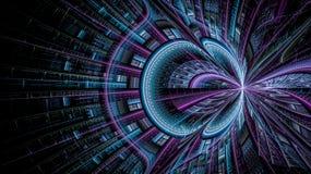 Οι κόσμοι φαντασίας fractals Στοκ Φωτογραφία