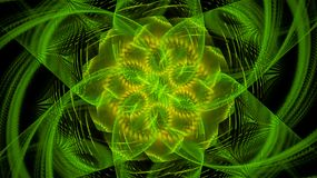 Οι κόσμοι φαντασίας fractals Στοκ φωτογραφία με δικαίωμα ελεύθερης χρήσης
