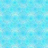 Οι κύκλοι ποτίζουν το άνευ ραφής υπόβαθρο κυματισμών Στοκ εικόνα με δικαίωμα ελεύθερης χρήσης