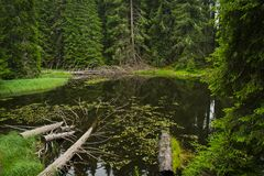 Οι λίμνες Smolyan Στοκ Εικόνες
