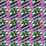 Οι λεπτοί χρωματισμένοι κύκλοι αφαιρούν τη γεωμετρική απεικόνιση υποβάθρου απεικόνιση αποθεμάτων