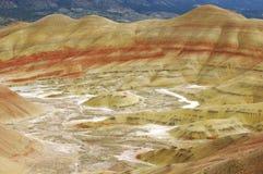 οι λόφοι John ημέρας χρωμάτισαν στοκ φωτογραφία με δικαίωμα ελεύθερης χρήσης