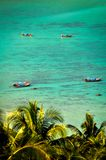 Οι μακριές ουρές στην παραλία Phi Ko Phi φορούν στοκ εικόνες με δικαίωμα ελεύθερης χρήσης