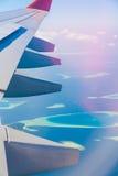 Οι Μαλδίβες, υδροπλάνο, κλείνουν επάνω Στοκ φωτογραφίες με δικαίωμα ελεύθερης χρήσης