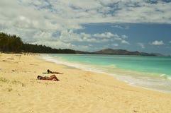 Οι μεγαλοπρεπείς και απίστευτες άσπρες παραλίες στοκ φωτογραφίες